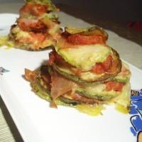 Torrette di parmigiana di zucchine