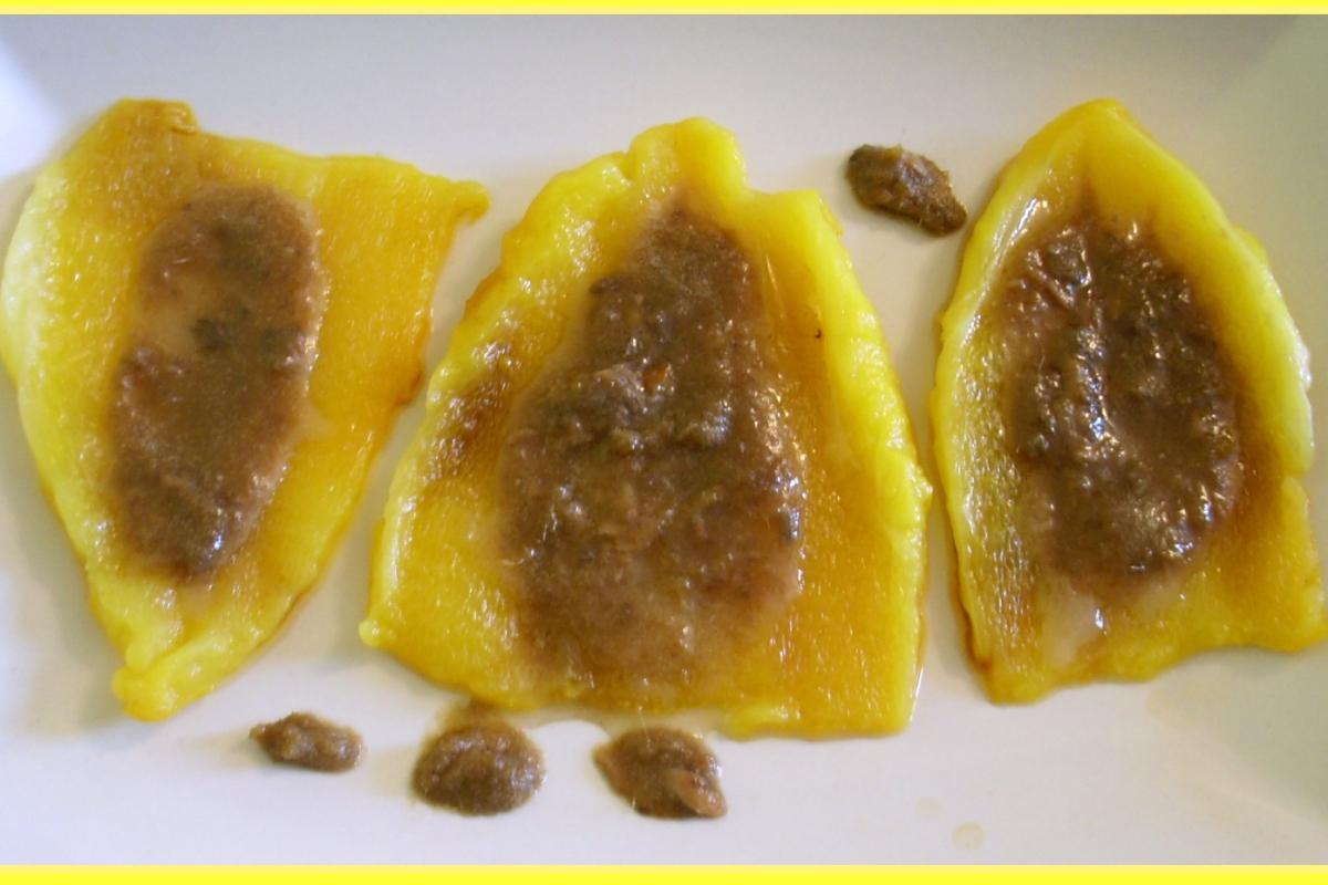 Peperoni gialli con finta bagna cauda – Cucchiarando