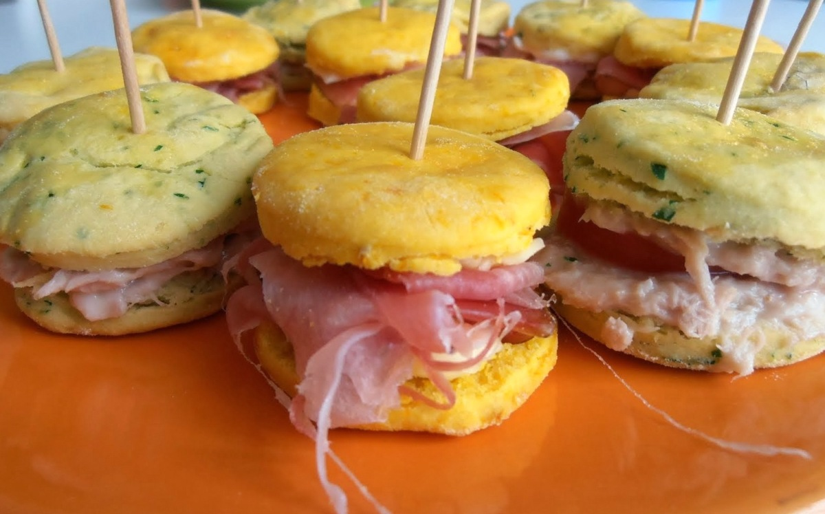 Scones salati