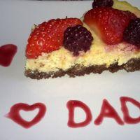 Cheese cake per la festa del Papà!