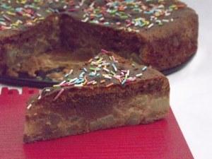 pere cioccolato fetta