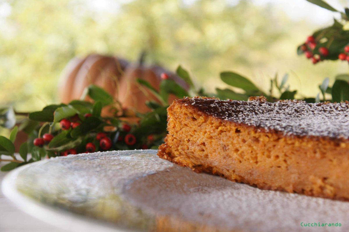 Torta zucca, amaretti e Moscato