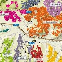 Una mappa per i Cru del Nizza